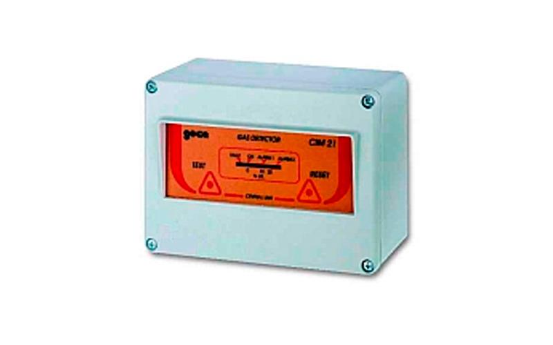 Detección de gases - Central