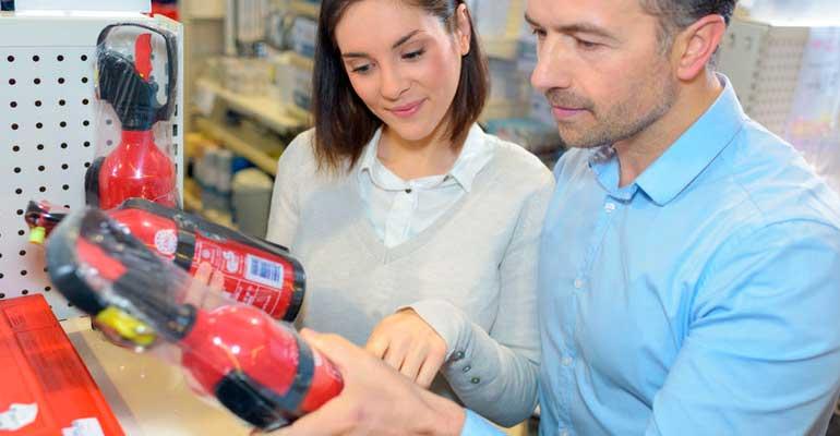 Venta de extintores para particulares y empresas